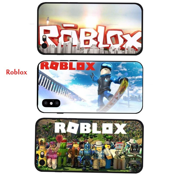Game Roblox Cosplay Phone Case Cover for IPhone5 5S 6 6S 6Plus 6SPlus 7  7Plus SE for Samsung Galaxy S5 S6 S6 Edge S7 S7 Edge Note4 Note5 Huawei  Series