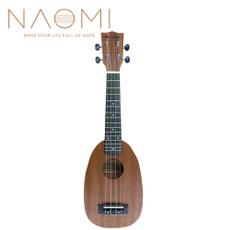sapele, beginner, ukulele, shaped