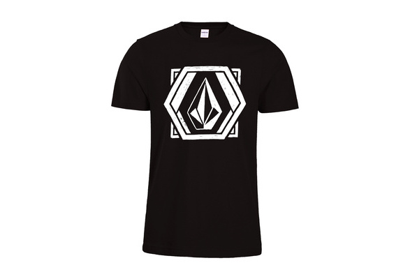 Mens Classic Stone T-shirt Summer Short Sleeve Volcom T-Shirts Tops Euro Size Cotton Tees