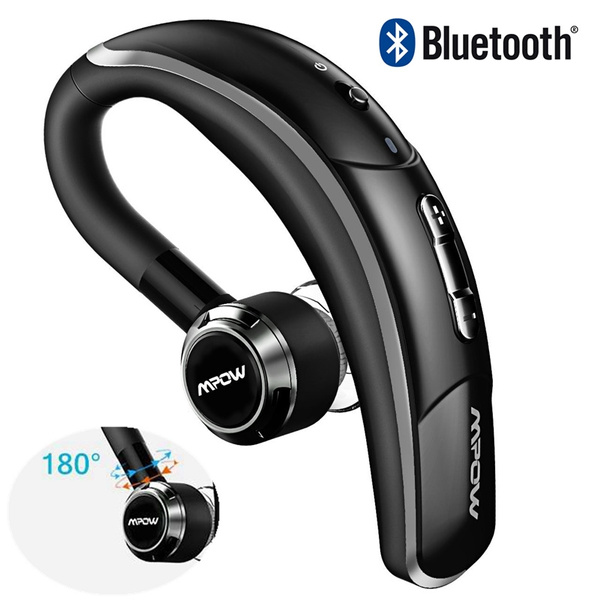 Mpow Bluetooth V4 1 Headset Wireless Business Style Earbud Car Bluetooth Headphones With Microphone For Iphone Samsung Android Wish
