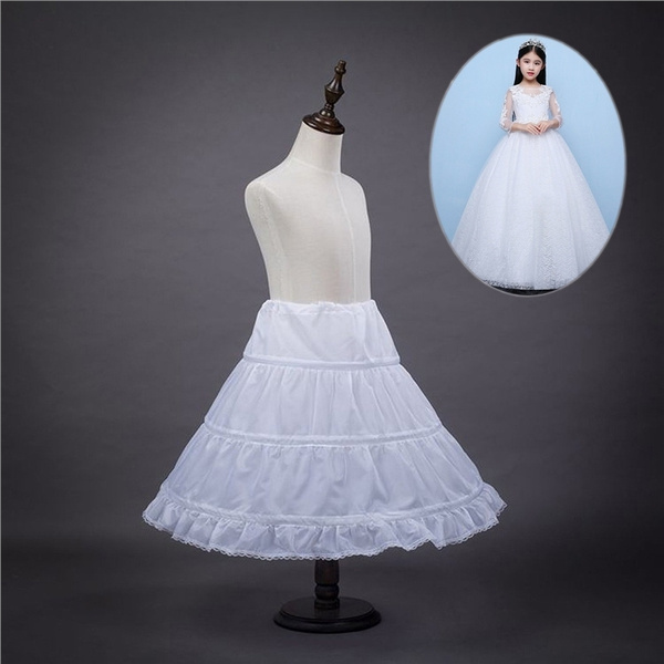 63d1a063ecd9 Girls' Petticoat Half Slip Flower Girl Crinoline Skirt Baby Dress Gift |  Wish