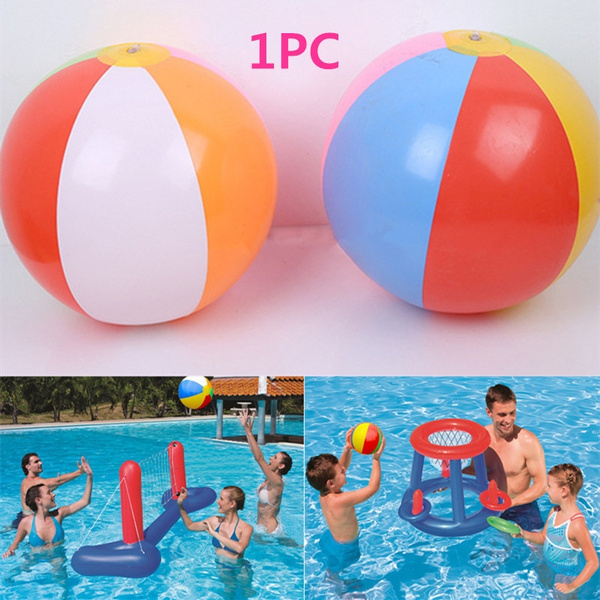28CM Inflatable Swimming Pool Water Game Balloon Beach Ball Toys Great Fad PB