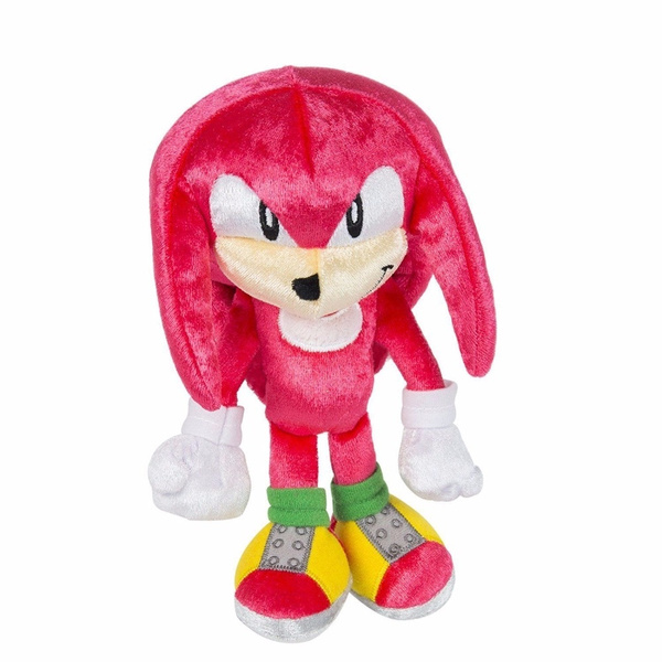 New Sonic 25th Anniversary Knuckles Plush Sonic The Hedgehog Boom 8 Figure Doll Toy Wish