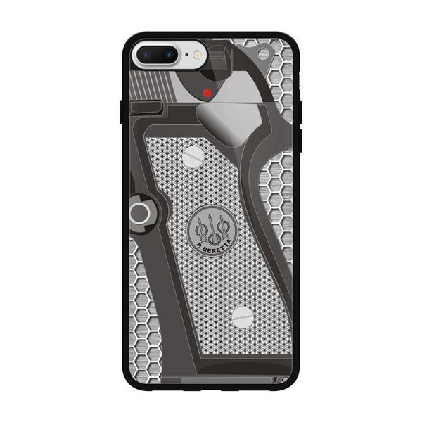 Mobile Phone Shell Fashion Design Beretta Gun For Iphone Case 8 8 Plus Rubber Cover Wish