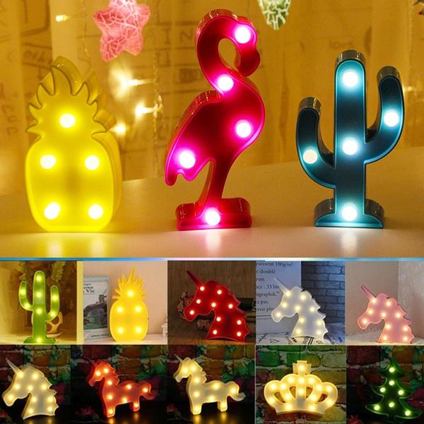 Table Lamp Christmas Room Decor Kids