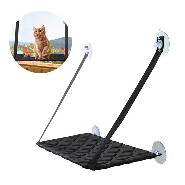 Swell Cat Window Perch Hammock Cat Bed Kitty Sunny Seat Durable Pet Perch With Upgraded Version 4 Big Suction Cups Cat Bed Andrewgaddart Wooden Chair Designs For Living Room Andrewgaddartcom