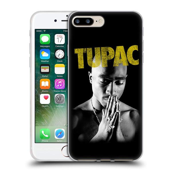 Tupac Shakur Golden Key Art Soft Gel Case for Iphone 4 4s 5 5s 5C 6/6s 7 8  Ix Samsung S3 S4 S5 S6 S7