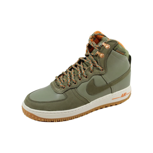 Nike Air Force 1 Hi DCNS Military Boot Silver SageMedium Olive 537889 300