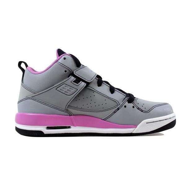 online store 22615 fed82 ... Wish Nike Grade-School Air Jordan Flight 45 Wolf Grey Light  Magenta-Cave Purple  Mens ...