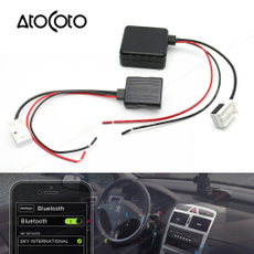 Car Bluetooth Module for Peugeot Radio Stereo Aux Cable Adapter