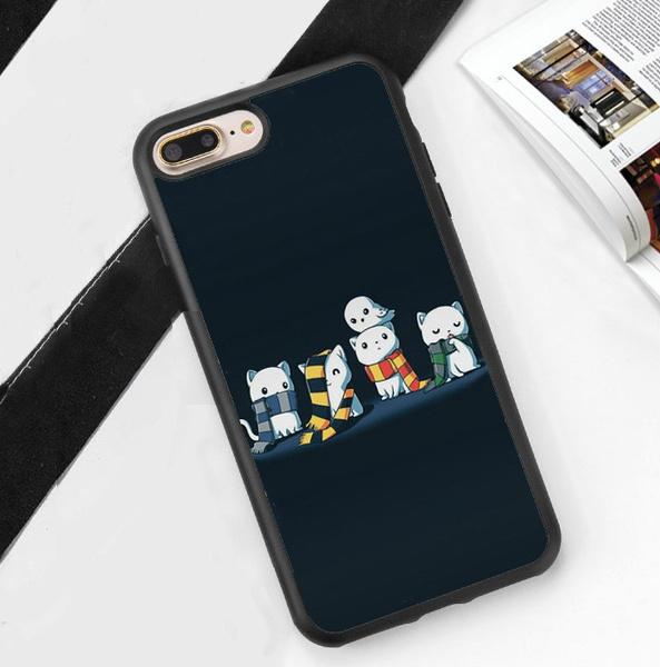221d40915d Cat Harry Potter Gryffindor Slytherin Soft Rubber Phone Case For ...