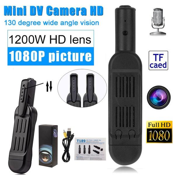 T189 Mini Camera Full HD 1080P Secret Camera Wearable Small Pen Camera Mini DVR