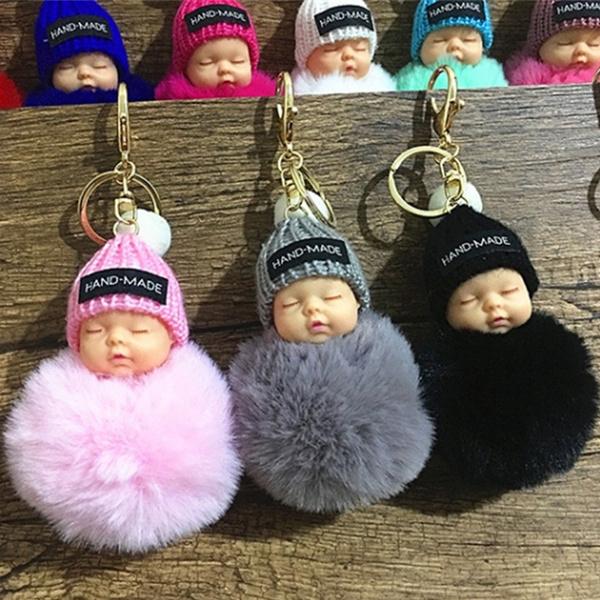 cute, Chain, doll, Ornament