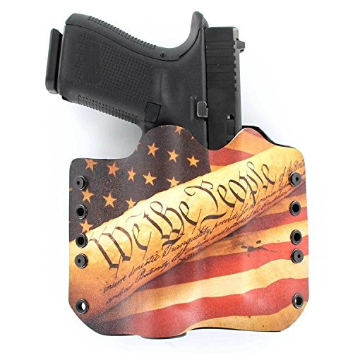 OWB TLR-1 Holster - We The People Tan (Right-Hand, Glock 20, 21, 37)