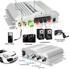 speakeramplifier, audioamplifier, Bass, Mini