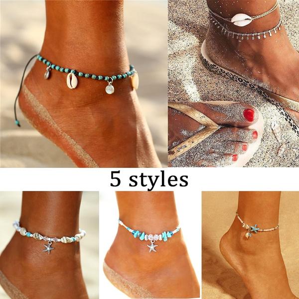 Summer, Sandals, ankletsforwomen, Jewelry