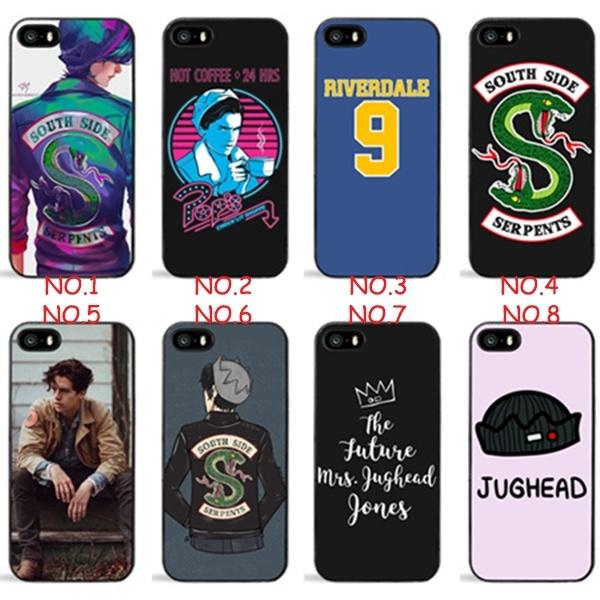 new concept 3f212 a122b Designs Riverdale Iphone 6 6plus Case, Riverdale Iphone 7/Samsung S8 Cover  Black hard plastic Phone Case