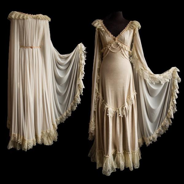 Women Renaissance Costumes Vintage Plus Size Medieval Masquerade Royal  Dress Gothic Medieval Dress Medieval Gothic Victorian Rnaissance Dress Lace  ...