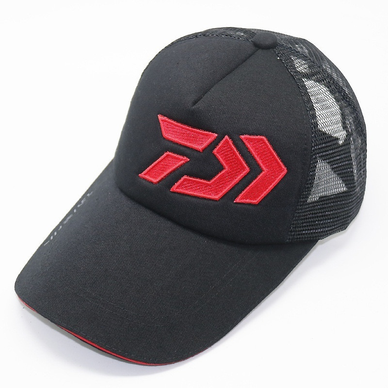 af70b89ad3c27 Suitable  Camping Hiking Hunting Fishing Weight  100g. Other  DAIWA  breathable mesh cap Adjustable hat. Products include  1x brand fishing cap