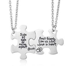 Heart, Jewelry, charmsymbolnecklace, bestfriendnecklace