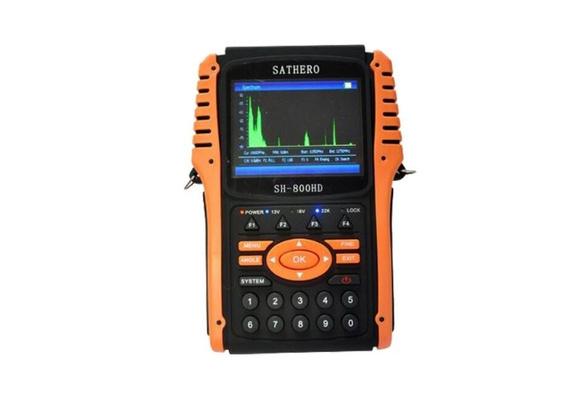 SATHERO SH-800HD Digital Signal SAT Finder Compteur HD DVB S2 USB2.0