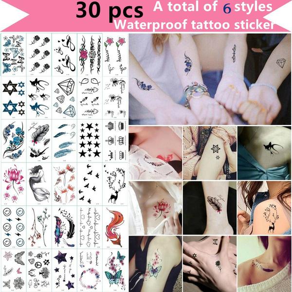 Fashion, waterprooftattoosticker, Waterproof, Tattoo sticker