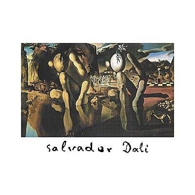40x60 Salvador Dali Metamorphosis Of Narcissus Huge Art Poster Print