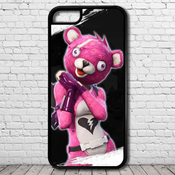 quality design 118b2 4a6ae Cuddle Bear Team Leader Skin Fortnite phone case for iPhone 4/5/5s/6/6S/6  Plus/6S Plus/7/7 Plus/8/8 plus/X,samsung galaxy and note cell phone