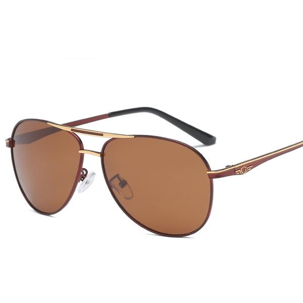 Vintage Oversized Frog Mirror Shade Metal Frame Sunglasses Outdoor Eyewear UV400