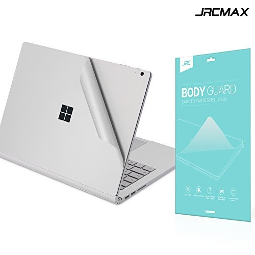 Surface Book 2 15 Inch Full Body Stickers, JRCMAX 4-in-1 3M Full Body Wrap  Decals Cover Protector Skins For Latest Microsoft [Top + Bottom + Touchpad