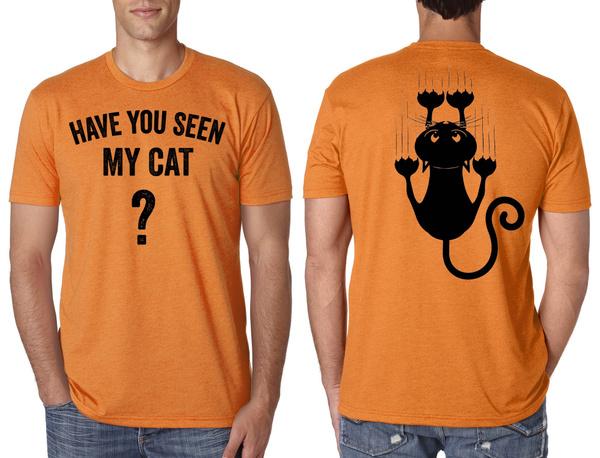 Wish Halloween Cat Costume T Shirt Creative Funny Halloween Costume Idea Cool Cat Shirt Mens Womens Unisex Shirt