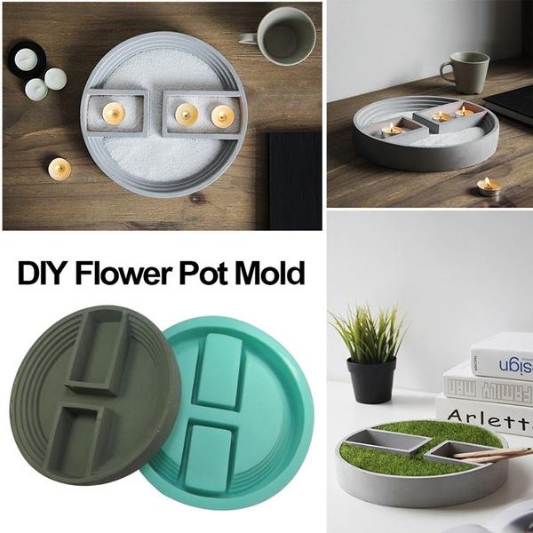 Bonsai, Flowers, planter, Silicone