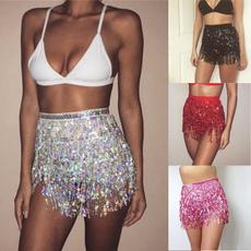 Mini, Summer, Tassels, Moda