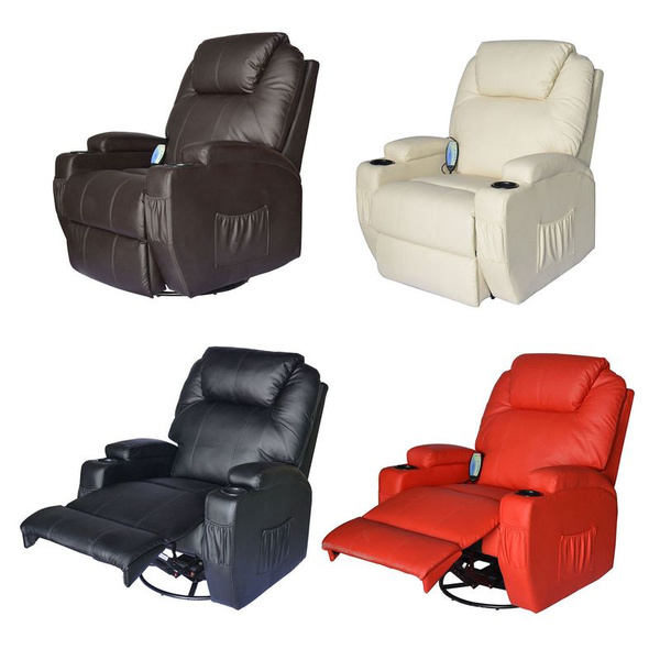 Awe Inspiring Massage Recliner Sofa Leather Vibrating Heated Chair Lounge Executive W Control Bralicious Painted Fabric Chair Ideas Braliciousco