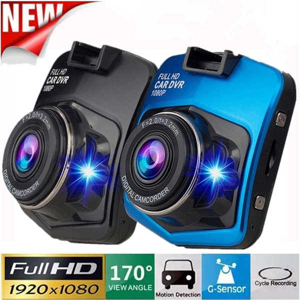 HD 2.4/'/' 1080P Car DVR Video Recorder Camera Dash Cam Night Vision G Sensor