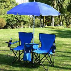leisurechair, Picnic, camping, adjustableumbrella
