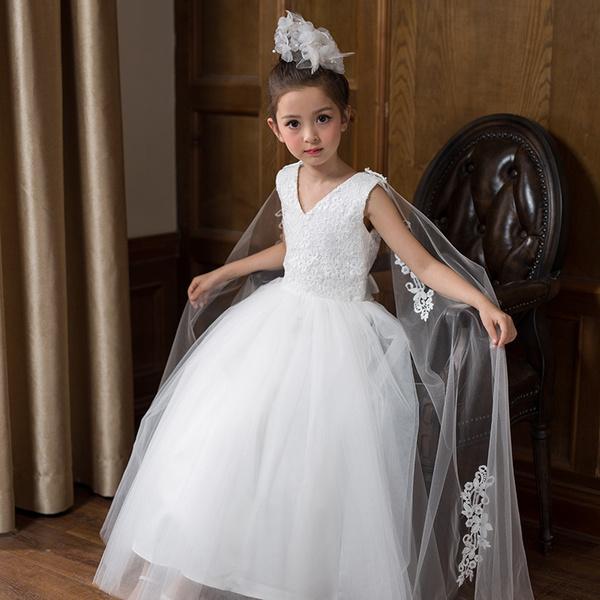 Wish | DMfgd Neue Blumenmaedchen Kleid Sommer Prinzessin Kostuem ...