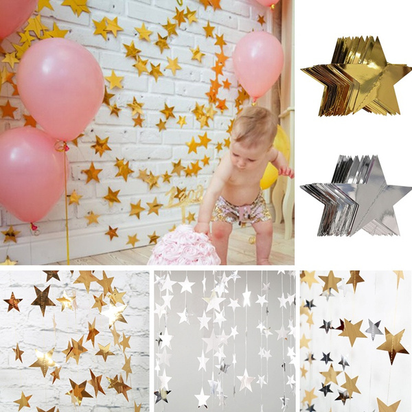 bunting, Star, Holiday, babyshowerdecoration