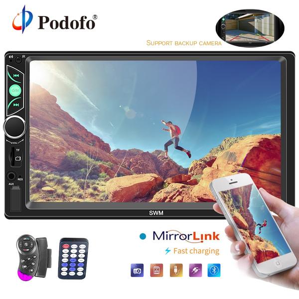 Podofo Car Multimedia Player Autoradio 2 Din 7