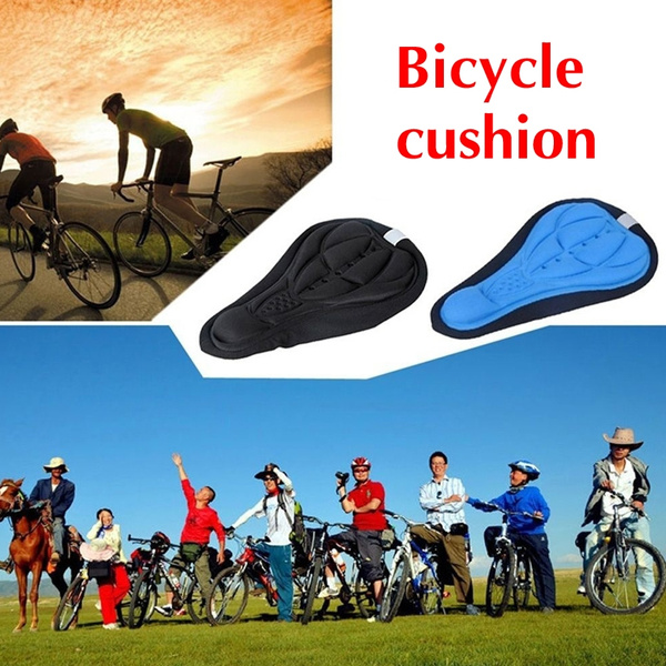 1Pc Thick Cycling Bicycle EVA Pad Seat Saddle Cover Soft Bike Seat Cushion Cover