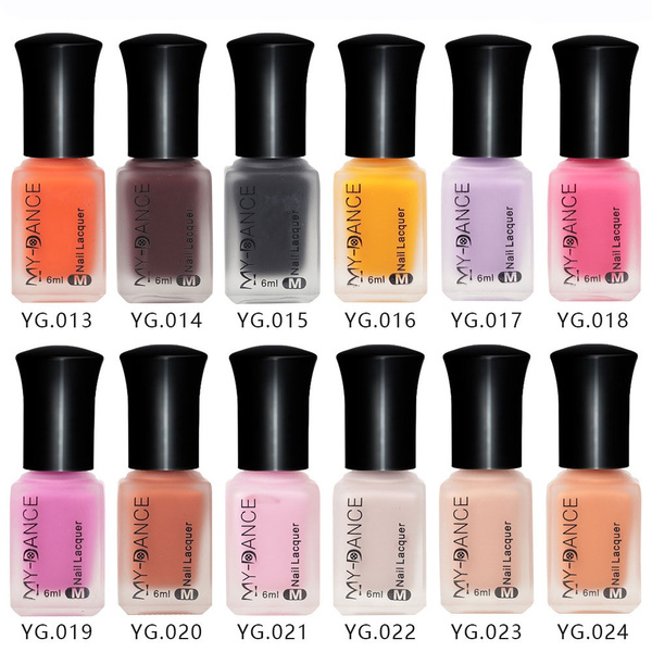 Wish Velvet Matte Nail Polish Long Lasting Durable Enamel Lacquer Varnish Beauty Diy Manicure Tool Nails Gel