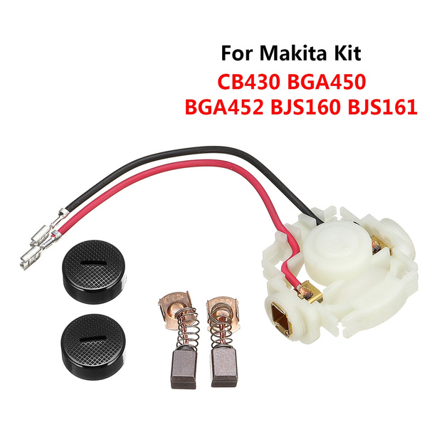 Carbon Brush Holder For Makita CB430 638448-2 BGA450 BGA452 BJS161 BJS160 BJS101
