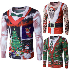 Fashion, Christmas, uglychristmassweater, Long sleeved