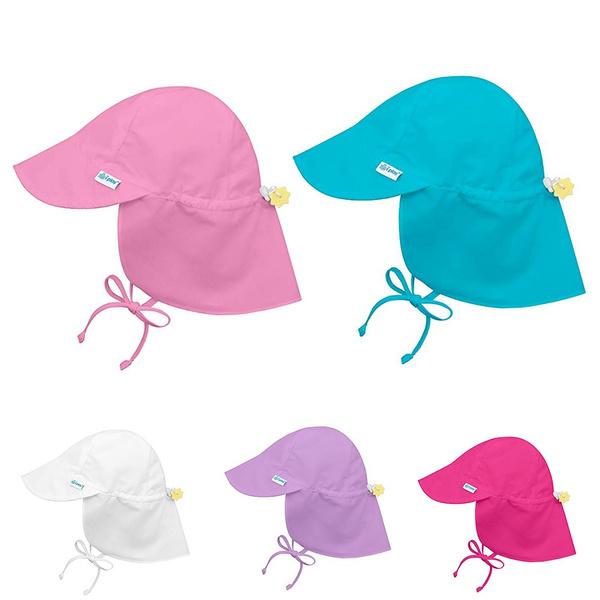 4096043c09e Baby Boys Girls Sun Protection Swim Hat Children Sunscreen Hat ...
