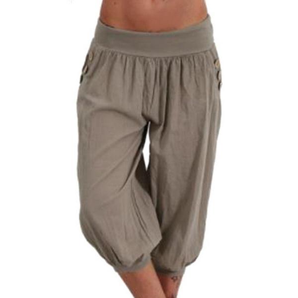 0f86cd3d07 Wish | Women's Fashion Plus Size Solid Color Casual Long Pant Loose Baggy  Harem Yoga Pants Women Trousers S-5XL