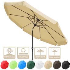 patioumbrelladarkcoffee, Outdoor, Aluminum, tilt