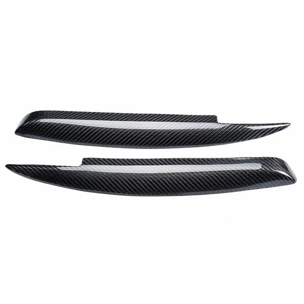 Wish Car Carbon Fiber Headlight Eyebrows Eyelids Cover For Bmw E81