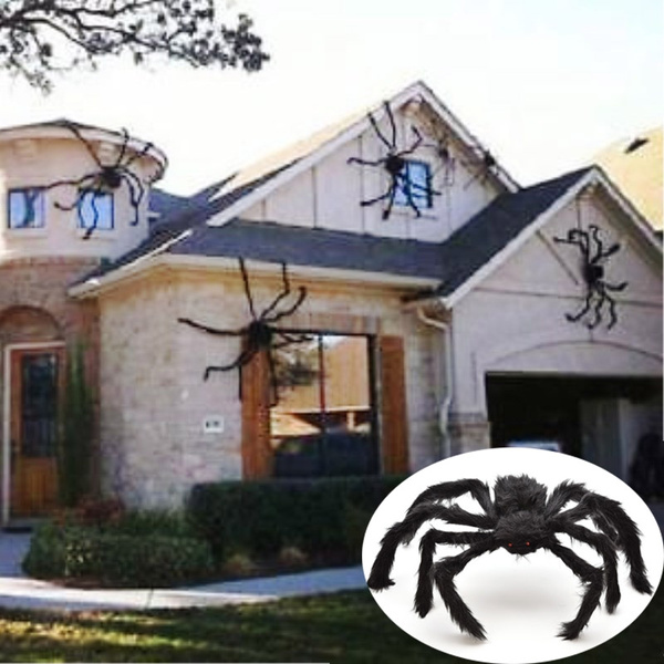 Giant Spider Decor House Haunted