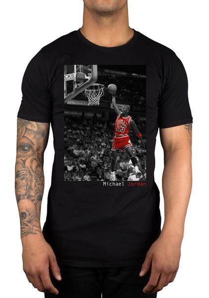 95894b6e774 Mens Michael Jordan Fearless Graphic Tee Shirt Summer Fashion T ...