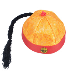 Three Kingdoms Period Great Sage Zhuge Liang Ancient Scholar Cap Cosplay Hat